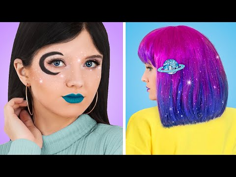 Are You Ready to Party? / Genius Fashion and Beauty Hacks to Rock a Galaxy Party! - Видео онлайн