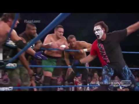 Main Event Mafia vs Aces & Eights TNA IMPACT Wrestling 8/22/2013