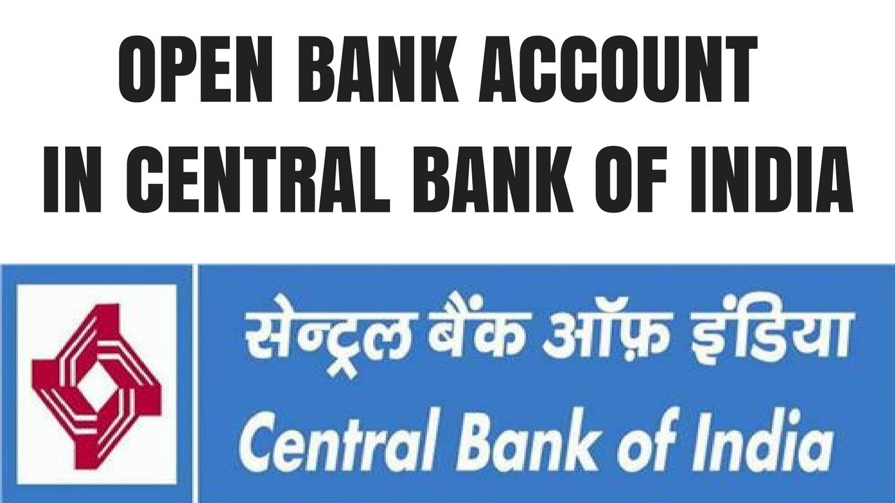 Centeral Bank Of India Account Opening Online | How to open central bank of  india account online