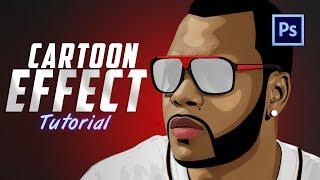 Adobe Photoshop Cartoon effect [ Tutorial ] V.1