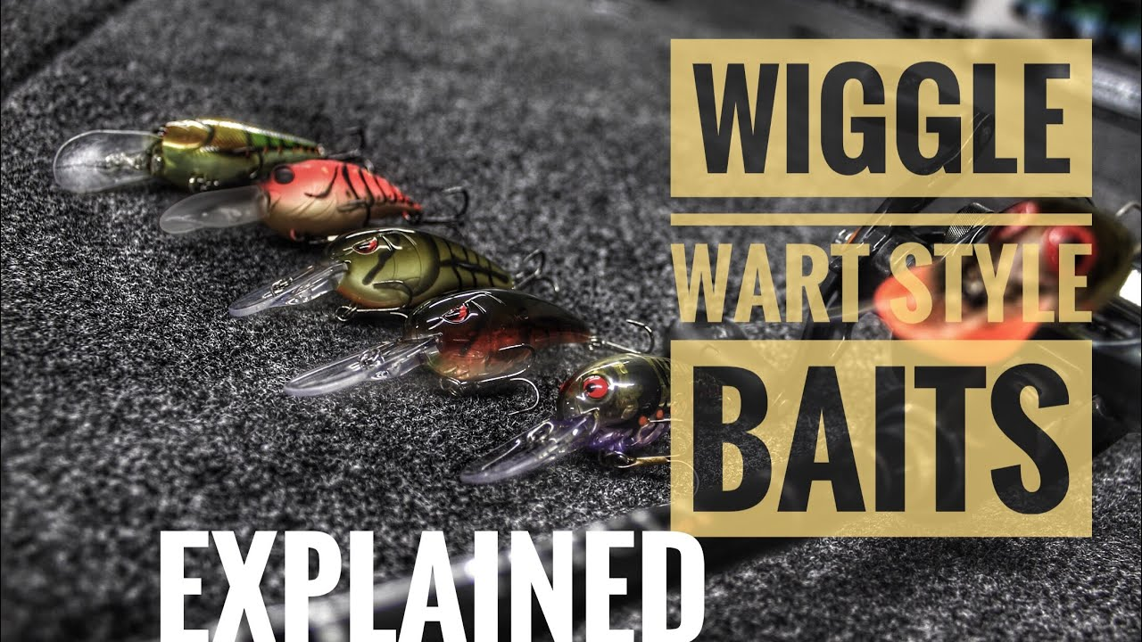Wiggle Wart Crankbaits Explained and How To Identify Them