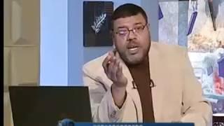 المقطع المحذوف من برنامج دين الشيعه هزيمه اشرف غريب من ابو زيد جعله يقطع المقطع والاتصال