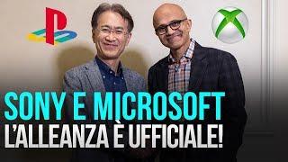 Sony e Microsoft verso il Cloud: alleanza ufficiale!