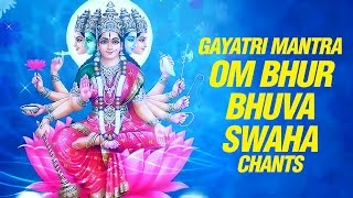 Gayatri Mantra - om Bhur Bhuvah Svaha - 108 With Lyrics by shilendra bhartti