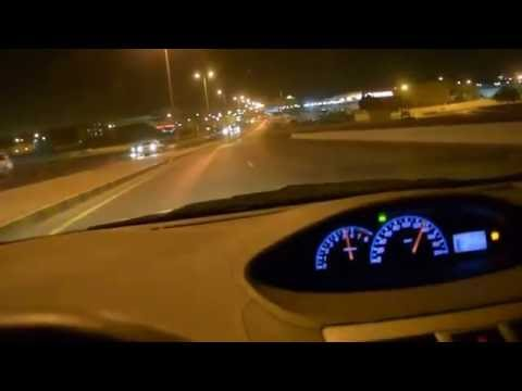 A Drive Through Muscat City at night - 12/10/2014