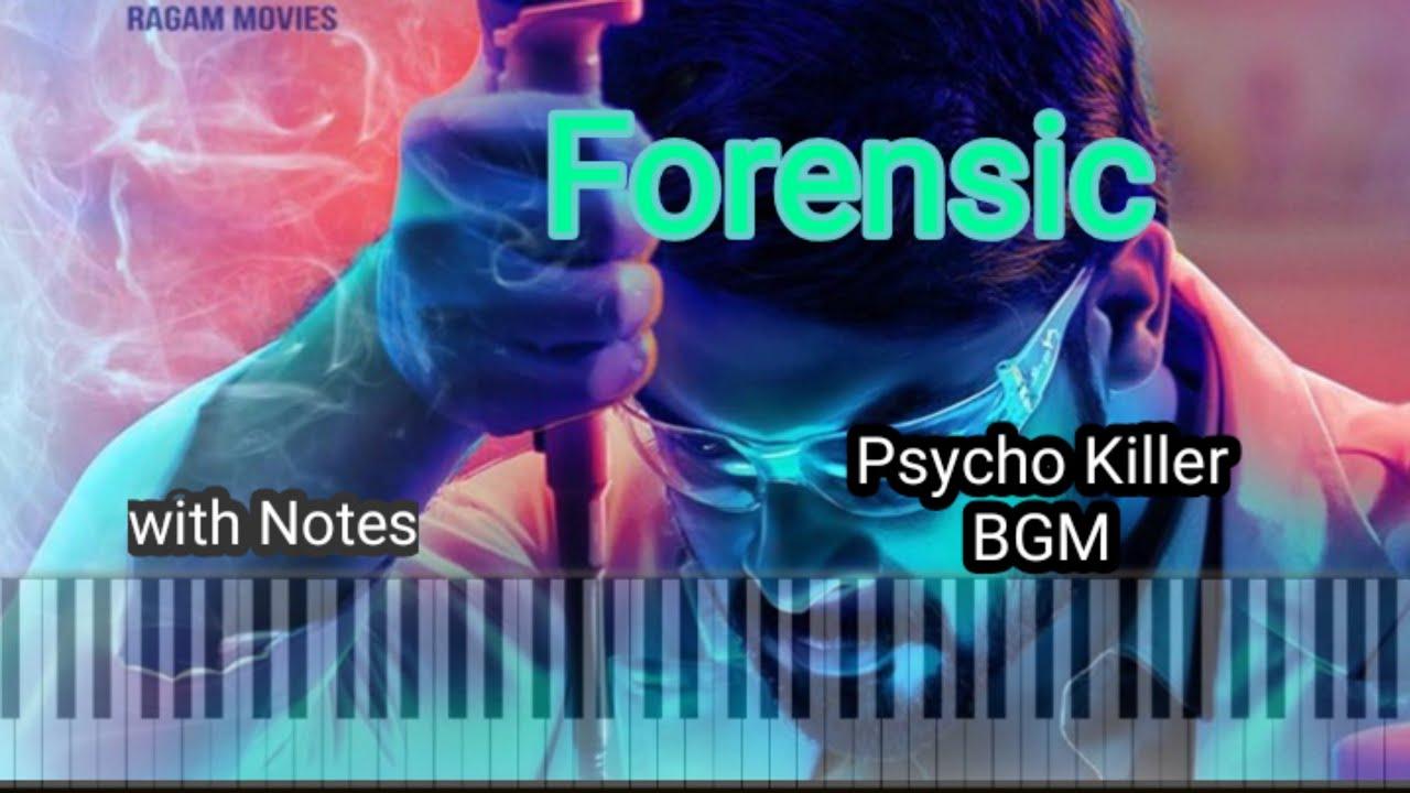 Forensic Psycho Killer Bgm La La La La Bgm Tovino Thomas Piano Tutorial By Mobile Piano Youtube