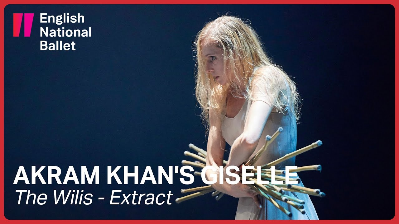 Akram Khan's Giselle: The Wilis (extract) | English National Ballet
