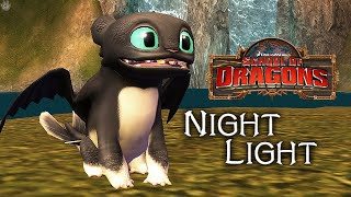 RUFFRUNNER THE NIGHT LIGHT | School of Dragons