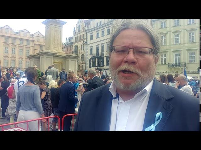 Alexandr Vondra: Co pro mě znamená Mariánský sloup v Praze?
