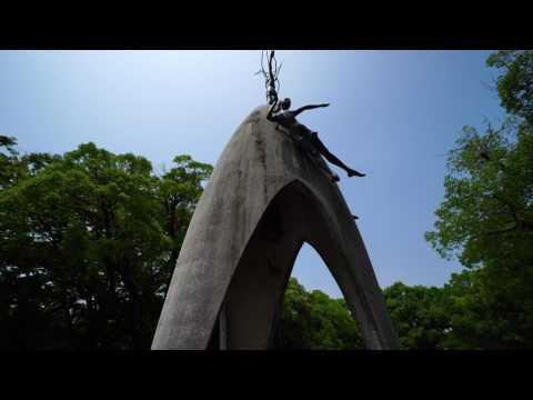 広島平和記念公園 2017.7.29(Hiroshima Peace Memorial Park)a6500 zhiyun crane-m