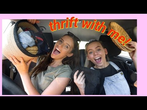 Thrift With Me In Brisbane | Ft. Georgia Woodford