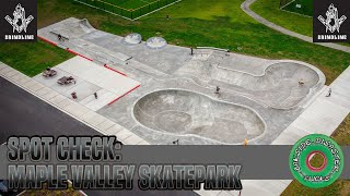 Spot Check: New Grindline Maple Valley Skatepark at Summit Park // DJ Mavic Air