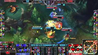 SK (Fredy122 Nautilus) VS Gambit (Cabochard Yasuo) Highlights - 2015 EU LCS Summer W7D1