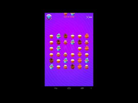 Cupcake Connect Match 3 Game for Android Devices