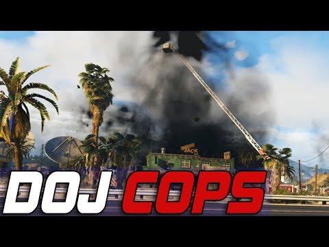Dept. of Justice Cops #543 - Serial Fire Starter