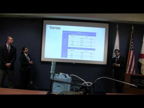 Team 2: Bicycle Powered Water Filtration System, FIU ME Fall 2014