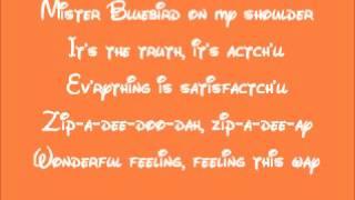 Song Of The South-Zip-A-Dee-Doo-Dah Lyrics