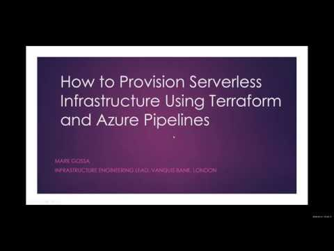 How to Provision Serverless Infrastructure Using Terraform and Azure