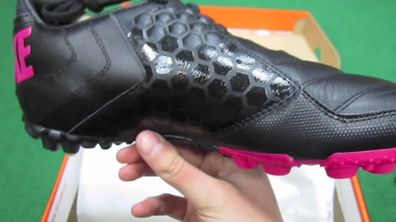 brand new 42b04 4f56d Nike5 Bomba Pro Turf Black Cherry - UNBOXING - YouTube