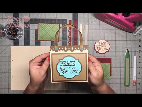 Cricut Design Space - Treat/Gift Box Bag Assembly