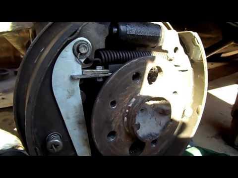 доработка стояночного тормоза для ВАЗ 2101-2107