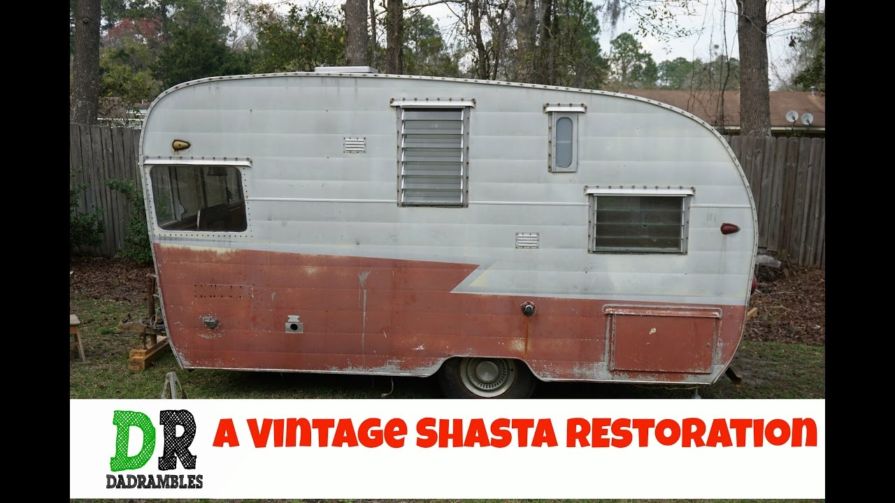 Restore a Vintage Shasta Camper Canned Ham #1 | How to