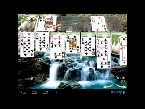 Solitaire 3D for Android Devices