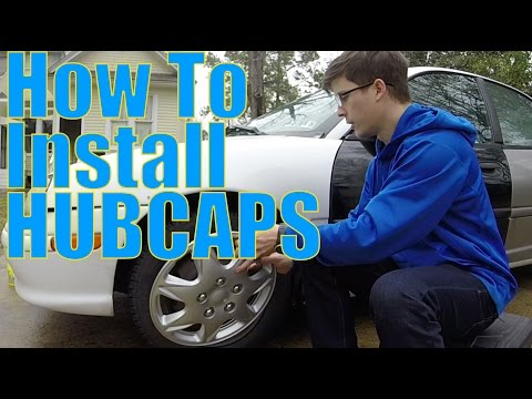 DIY Car Projects: How to Install Hubcaps
