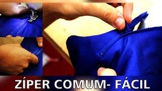 Passo a Passo: Como costurar zíper comum