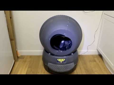 Litter-Robot II - Classic Bubble Globe / Litter Box
