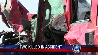 Fatal early-morning accident on Highway 35 leaves 2 dead