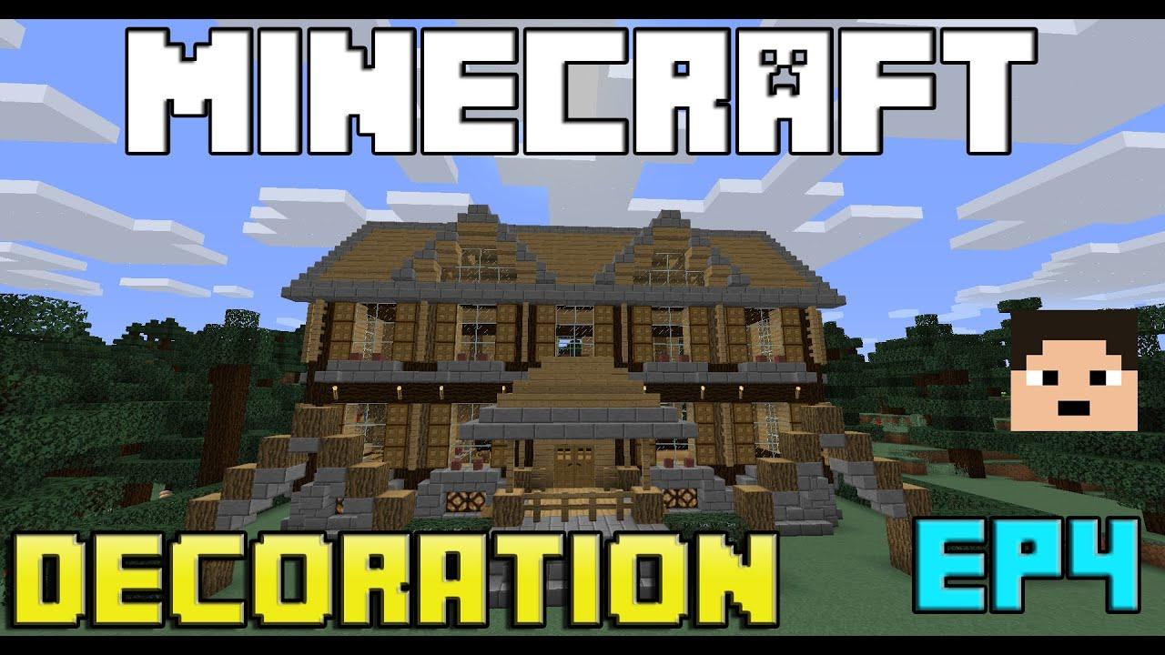 Tuto minecraft int rieur d 39 une maison simple ep 4 - Interieur d une maison ...