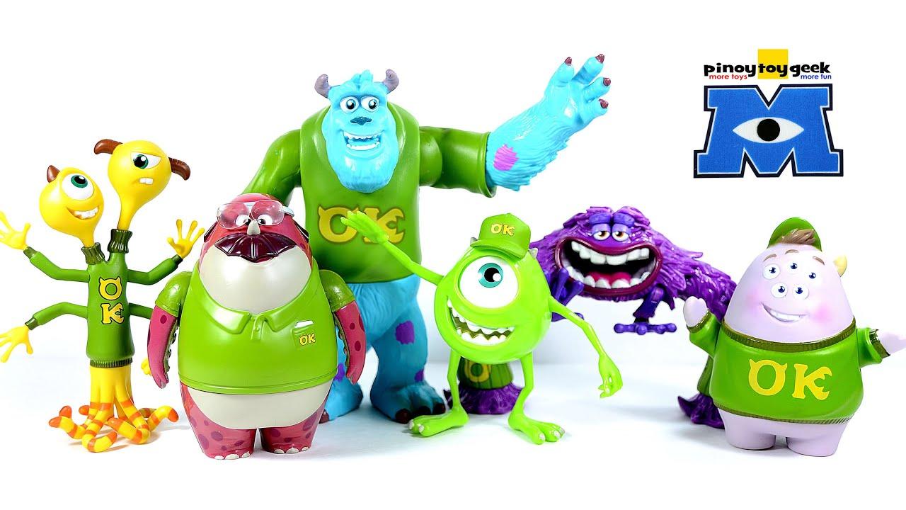 Monsters University Frat Pack Oozma Kappa Disney Pixar Toy Review Youtube