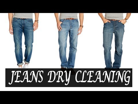 Dry cleaning | Jeans dry cleaning | How to dry clean jeans at home | Dry clean at home