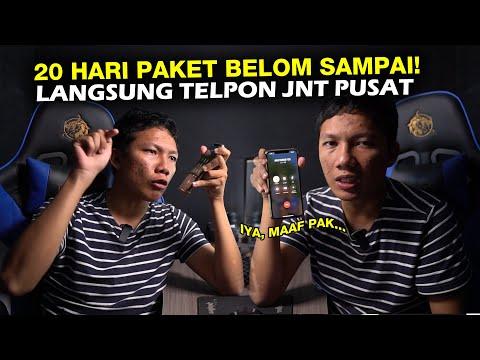 Auto HANCUR Paket Anda di Jasa Pengiriman || DC J&T expres