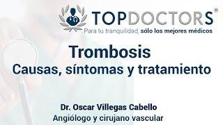 De basílica la síntomas de trombosis vena