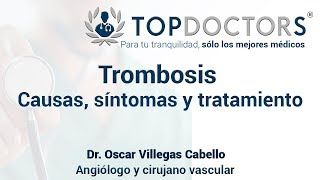 Trombosis sintomas pierna de