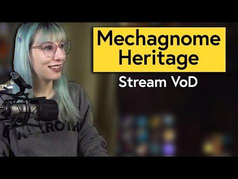Unlocking Mechagnome Heritage Armor! May 3 2020 Live Stream VoD