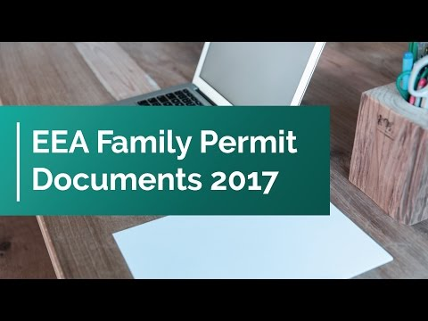 EEA Family Permit Documents 2017
