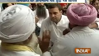 Rahul Gandhi Meets Faridkot Firing Victims, Says No Future in Punjab Except for Akalis