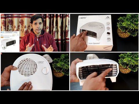 Orpat OEH-1220 Room 2000-Watt Heater | Unboxing, Features, Demo, Testing | Best Room Heater for Home