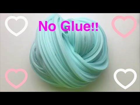How to make slime ingredients fluffy