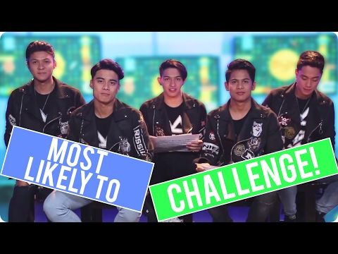 MOST LIKELY TO Challenge with BoybandPH