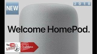 NEW ! APPLE HOME POD  voice-controlled speaker ( Siri )