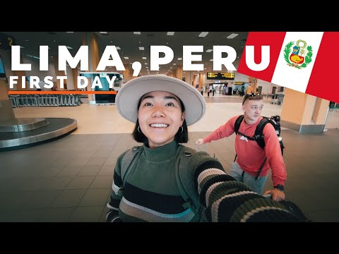 We Arrived Lima, Peru - This Is What Happened 🇵🇪