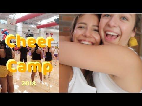 cheer-camp-vlog//-100-degrees-no-air-conditioning