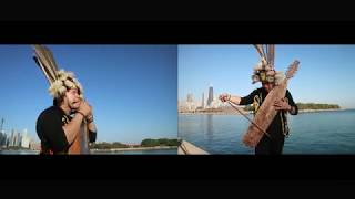 Download Lagu Satu Nusa Satu Bangsa I Sape Cover Alat Musik Tradisional Indonesia at Navy Pier Chicago MP3