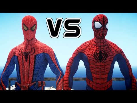ULTIMATE SPIDERMAN VS THE AMAZING SPIDER-MAN