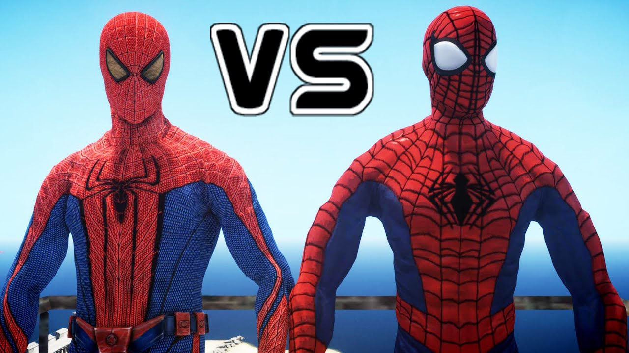 ultimate spiderman vs the amazing spider man youtube