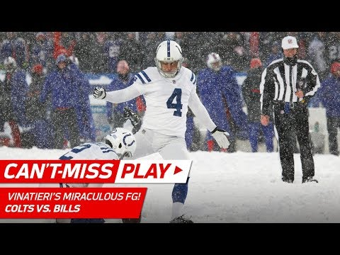 You Won't Believe this Miraculous Extra Point Try in the Snow! | Can't-Miss Play | NFL Wk 14